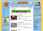 Screenshot: Fun2000.de